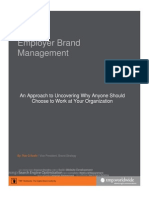 Employer Brand Mangement