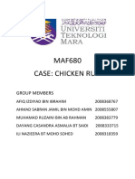 Report Chicken Run