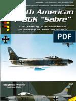 AirDoc North American F-86K Sabre in Luftwaffe Service