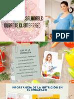 Alimentacion saludable durante el embarazo