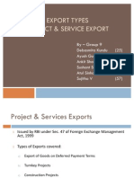 EXIM_Export Types PEM_Group 9