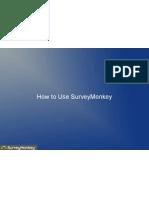 How to Use SurveyMonkey