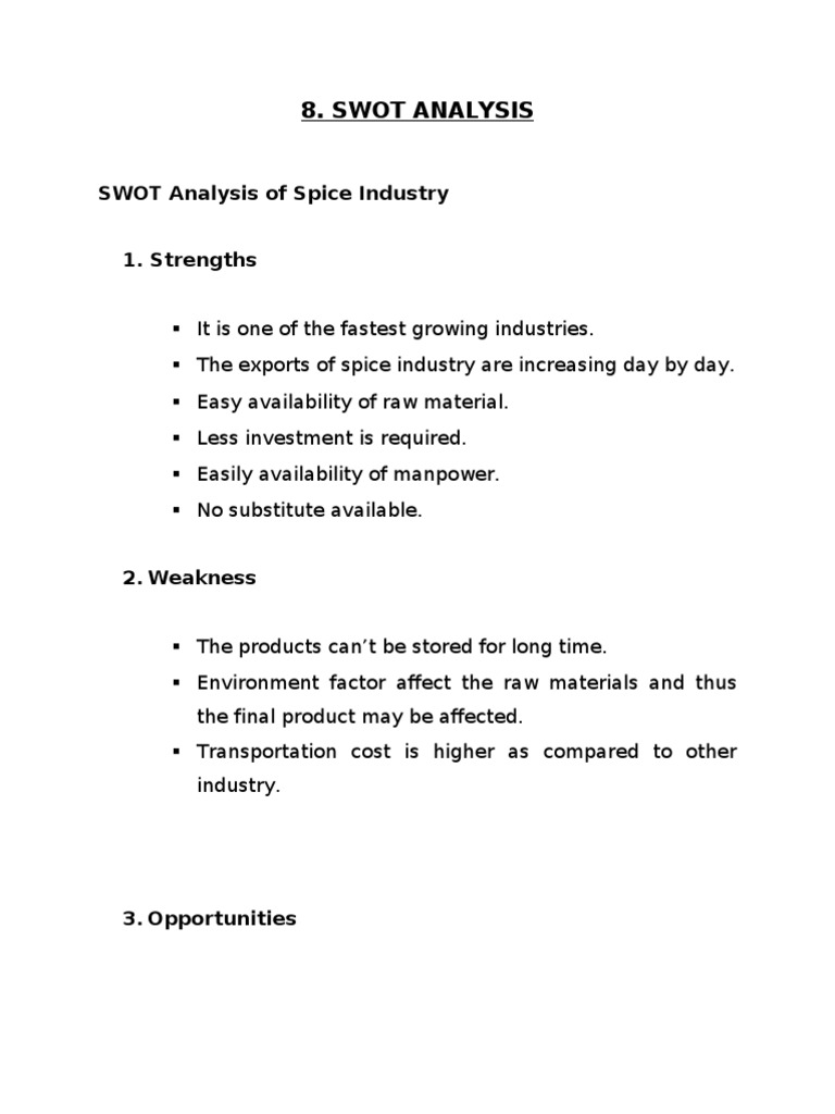 swot analysis on sugar industry in india One of the top sugar industry players swot analysis which is one of the largest integrated sugar processing company in india provided the much needed technical.