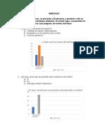 Gráficos, análisis, conclusiones y recomendaciones
