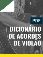 Dicionario acordes violao Gustavo