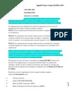 Debes de La Norma Iso 9001-2015