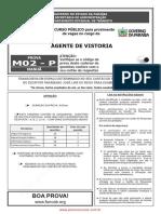 prova agente_de_vistoria