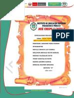 CARACTERISTICAS  DE LA  INSTITUCION EDUCATIVA  SIMULACION DE LA ENTREVISTA (1) (1)
