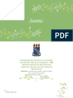 AUXINAS - Fisiologia Vegetal