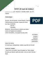El Mal de Isildur de C. Augusto Valdés