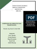 Compendio de documentos final