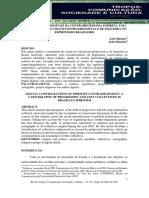 Signates e Damasio (2021). Configurações Digitais Da Contrahegemonia Espírita