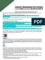 Gabarito - Revisão 2 ( Transmissão de calor)
