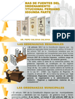 4.- Sistema de Fuentes Del Ordenamiento Constitucional Peruano Segunda Parte