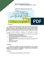 Pré-projeto Sobre o Meio Ambiente
