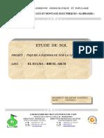 RAPPORT PIQURE A DJERMANE SUR LA LIGNE 60KV BIR EL ARCH FINAL