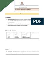 Ejercicio 1. Saneamiento (1)