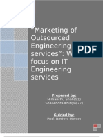 marketing of Engineering Services Outsourcing