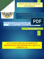 ACTUALIZACION DE GRADIENTES, RENTAS PERPETUAS Y SISTEMAS DE PAGO
