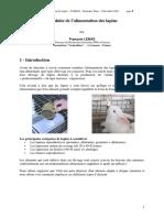 2010-Lebas-Tunisie-Conduite de l'alimentaion des lapins