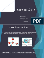 Agua- Fisico Quimica