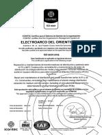 ISO 9001 ELECTROARCO DEL ORIENTE (12)