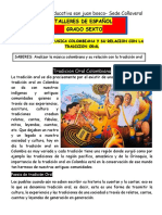 Taller de Español Grado 6-Profe Nancy