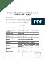 MANUAL DE FUNCIONES TESORERIA Y AXULIAR CONTABLE CONTABILIDAD (1)