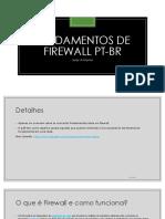 Fundamentos de Firewall