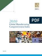 德勤_英文_2010全球制造业竞争力指数报告