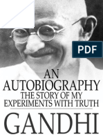 The story of my experiments with truth(Autobiography of Mahatma Gandhi )