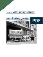 Vaseline Body Lotion Marketing Project00