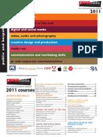 PMA Training Brochure 2011