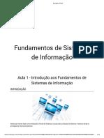 Fundamentos de Sistemas de Informação - Aula_01
