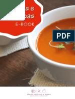 Caldos e Sopas E-book