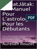 BrihatJātak_ Un Manuel Pour L'astrologie Pour les Débutants_ Livre d'astrol