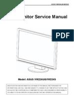 ASUS vw224 Service Manual
