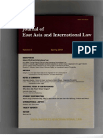 Journal EA & Inter Law May 2009 Bora