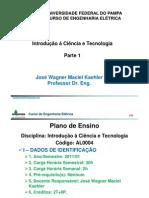 1 - Introdução à ciência e Tecnologia E - 1_ 2011