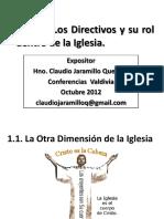 Taller Directivos Eclesiásticos (Conferencias Octubre 2012)
