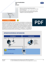 Single Data Sheet Operator Interface SERIES 300 Device Platform EAGLE - OS MT-336-TX - Fr-FR