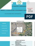 étude d'impact environnementale et sociale - BRT d'Abidjan