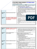 Ajou Univ exchange application info_2011 Spring