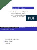 lezione7_Algoritmi-Strutture dati