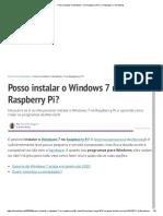 Posso instalar o Windows 7 no Raspberry Pi_ _ Computador _ Tecnoblog