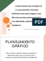planejamento gráfico