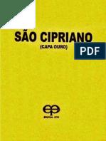 São Cipriano Capa de Ouro - Editora Eco