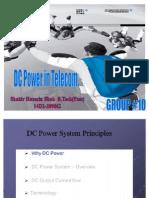 Presentation of DC Power System in Telecom by Muhammad Qasim