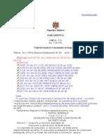 cod executional penal