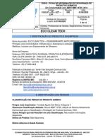 ECO CLEAN TECH (ETB) - FISPQ